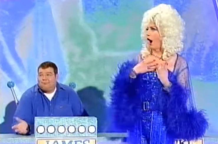 Paul also goes by his drag alter-ego Lily Savage