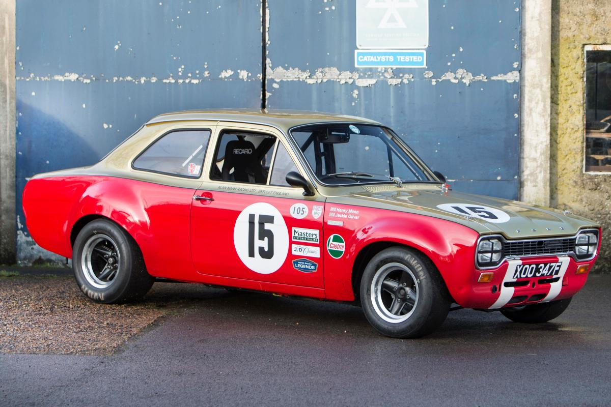 Brawny 1968 Mk 1 Ford Escort sold for a world record £203,100