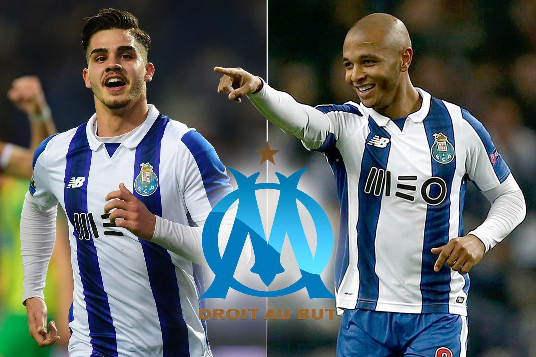 Marseille will splash £100MILLION on Porto stars Andre Silva and