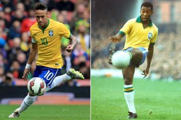 Resultado de imagem para pelé[e neymar