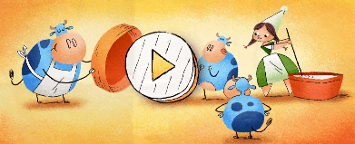 Marie Helvin has been recognised with her own cheesy Google Doodle