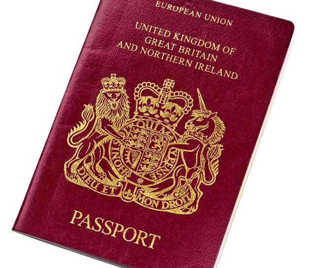 British Passport Application Payment Form, The British Passport Has Two French Phrases On The Cover U Et Mon Droit, British Passport Application Payment Form