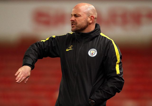Former Everton midfielder Lee Carsley is in charge of the Manchester City youth team