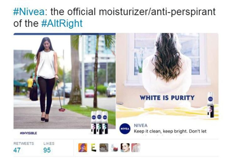 Image result for nivea advert white purity