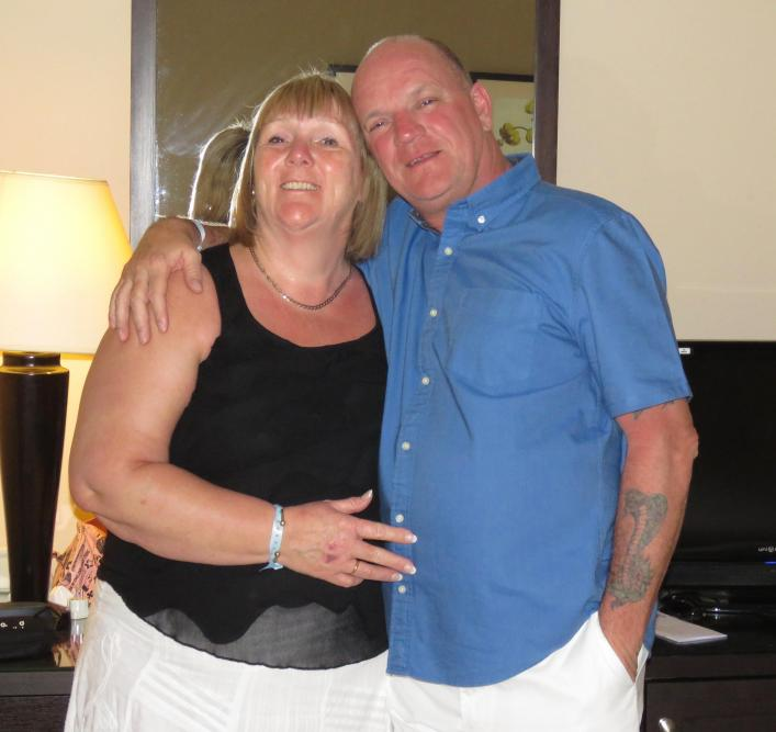 Robert Lapham and his wife Julie were enjoying a dream holiday to Egypt