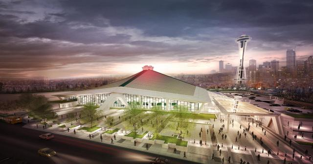 Seattle are planning to redevelop their arena to make it fit for an NBA or NHL team