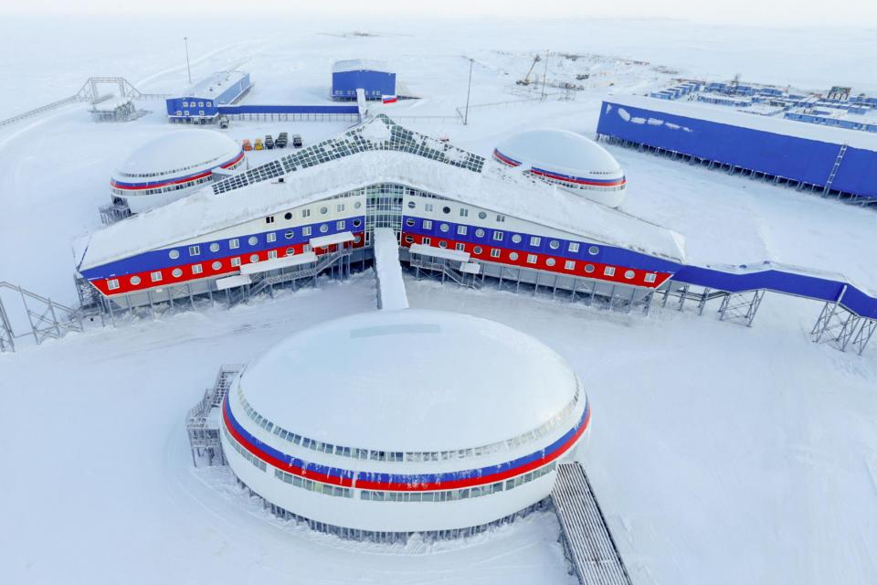Russia has unveiled its brand-new military base in the Arctic