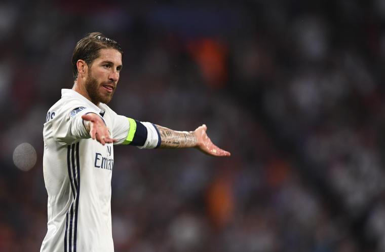 Sergio Ramos played against Athletic on painkillers