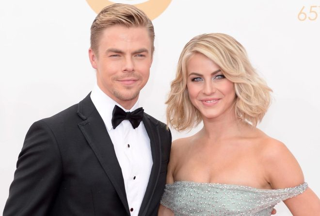 Derek and Julianne Hough were coached and lived with Shirley Ballas and her husband Corky in London