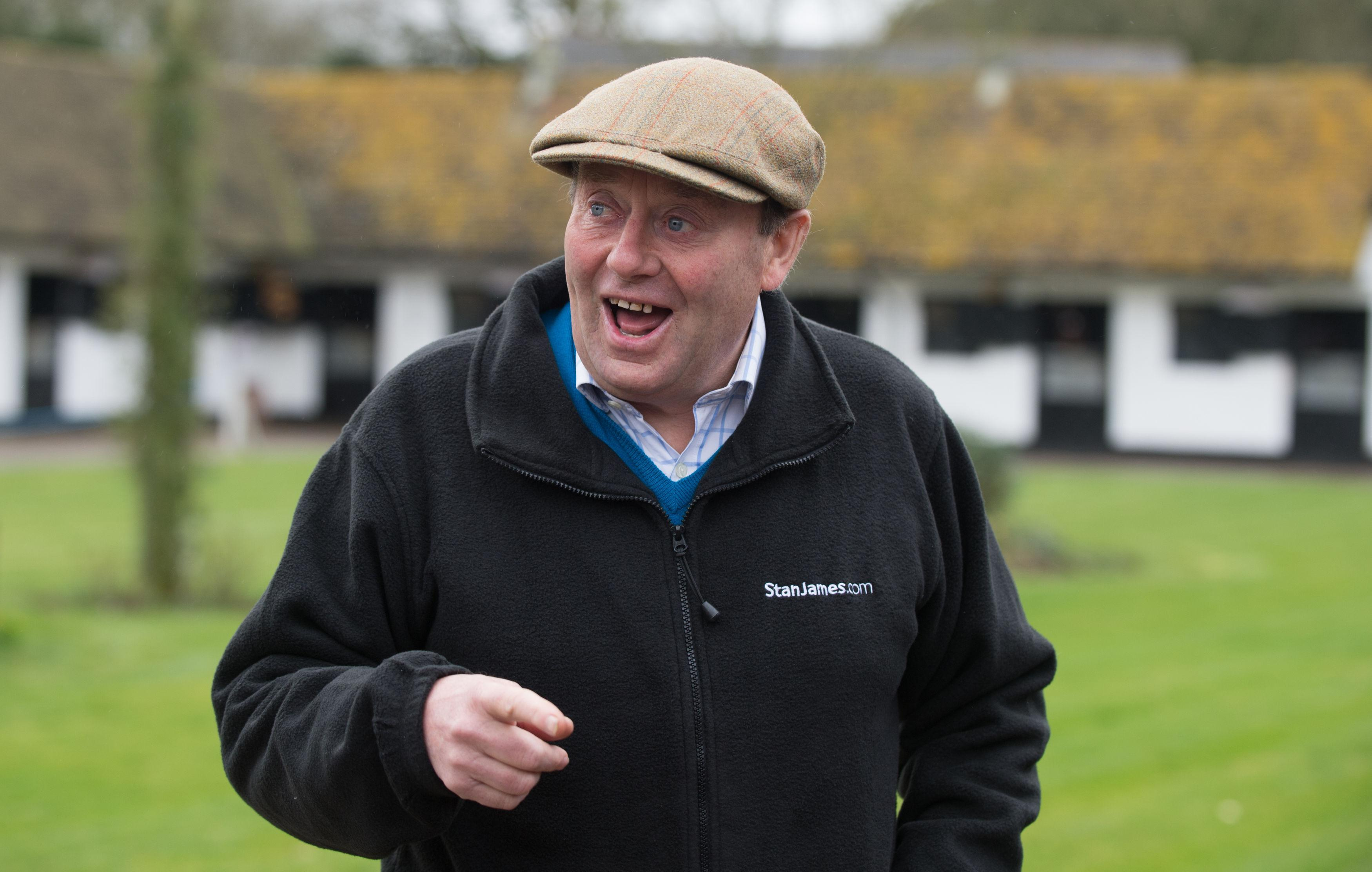 Nicky Henderson had a day to celebrate