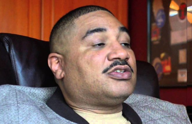 Reggie Wright Jnr said the photographer posed as as stripper to beat security
