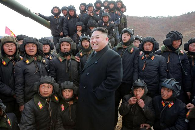 North Korea has warned that the military training in the region involving the US, Japan and South Korea is driving the area to the 'brink of war'