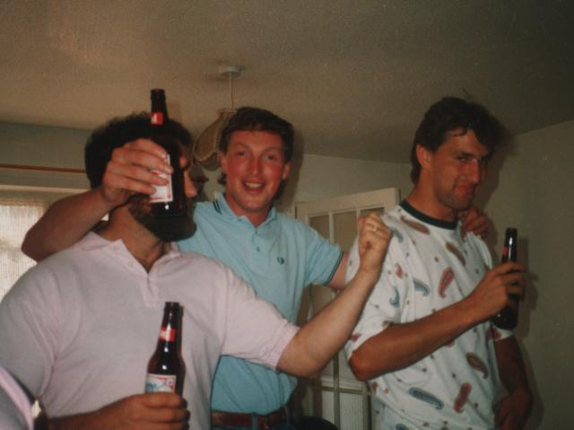 In his younger years theformer Arsenal and England captain would regularly pass out after a night out boozing