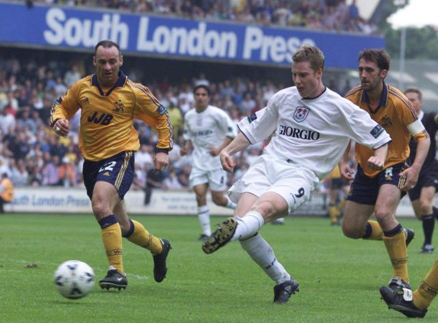 Neil Harris hit 138 goals in two spells with Millwall as a renowned poacher