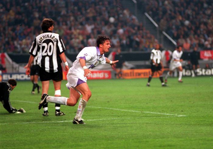 Il gol partita segnato da Predrag Mijatovic nella finale di Champions League del 1998 giocata ad Amsterdam, foto: Gettyimages