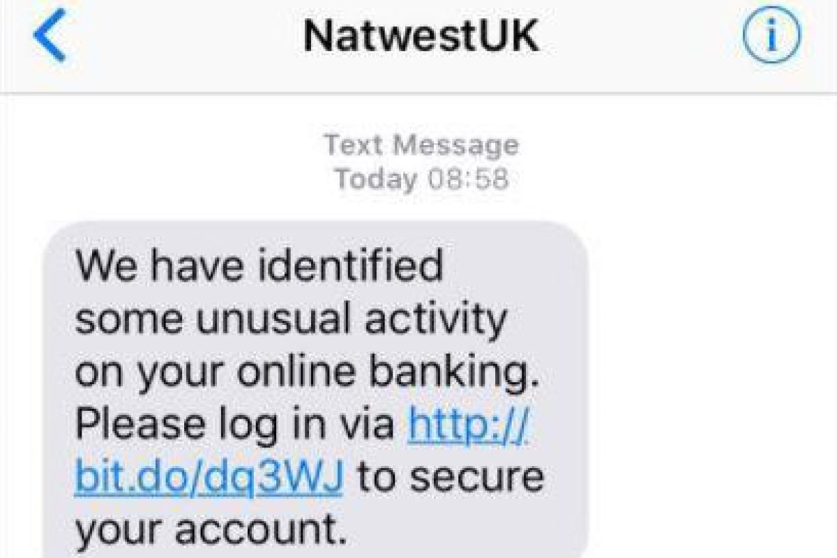 Beware of the NatWest text message scam that gives fraudsters access ...