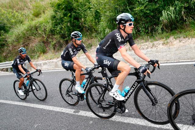 Geraint Thomas had been hoping to become the first Brit to win the three-week grand tour of Italy - the Giro d'Itlaia