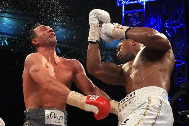 Anthony Joshua's historic win over Wladimir Klitschko had viewers fixed to their TV screens