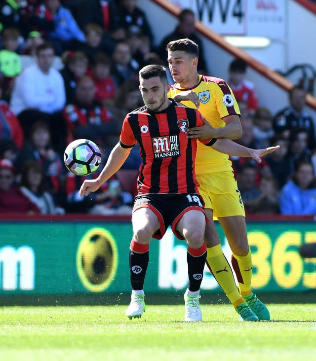 Bournemouth midfielder Lewis Cook has been in impressive form for the Cherries in recent weeks