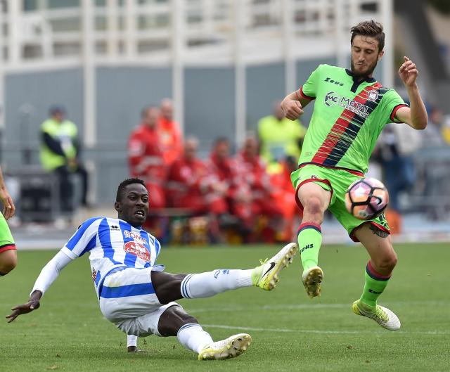 Mamadou Coulibaly risked everything to make journey from Senegal to Italy