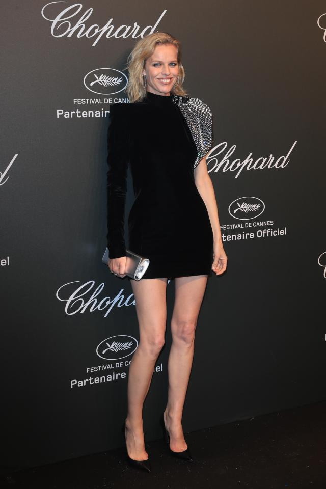 Eva Herzigova looks just as good as she did in her heyday twenty years ago