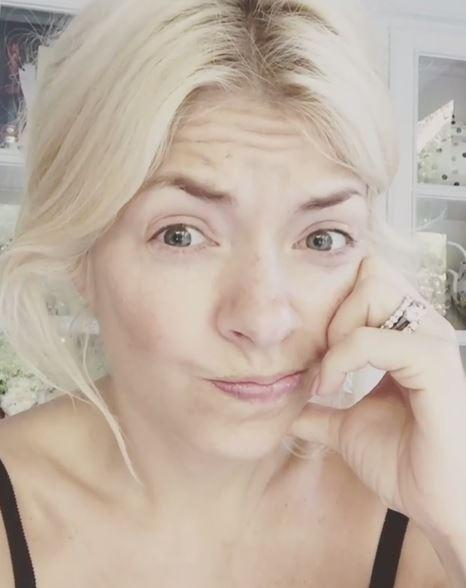 holly willoughby goes make