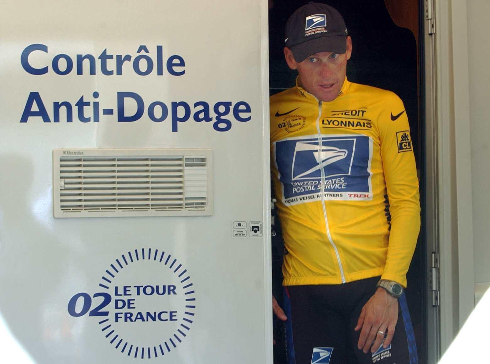 Armstrong admitted doping throughout the period he won his seven Tour de France titles