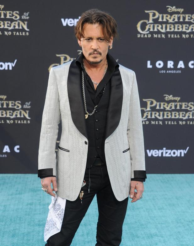 Johnny Depp is a world famous Hollywood star
