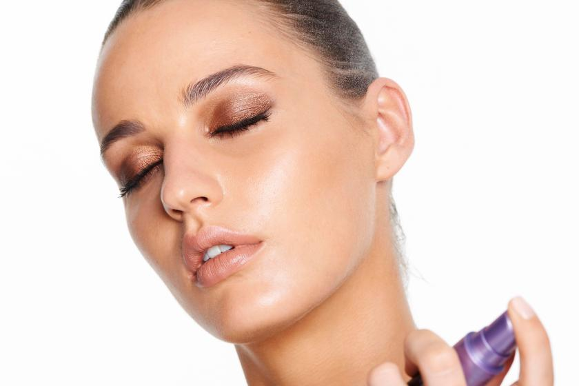 Make sure your make-up won't move with a setting spray