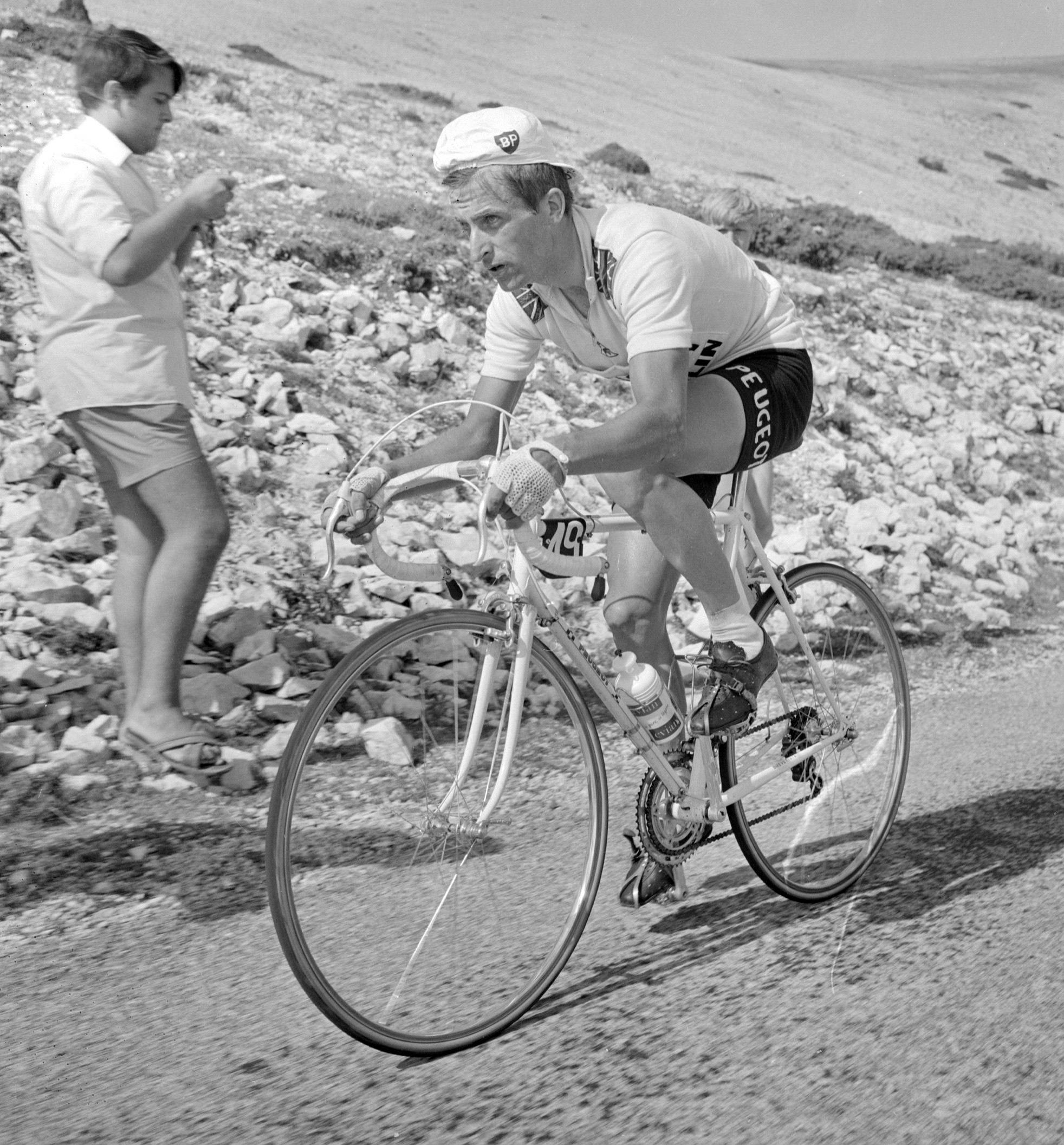 Tom Simpson tragically died 50 years ago on the slopes of Mont Ventoux while he was riding a mountain stage