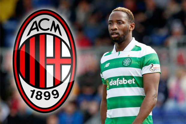 Italian giants AC Milan in talks to land Celtic s striking