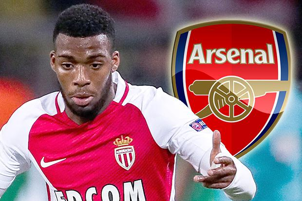 Image result for photoshopped picture of Thomas Lemar in Arsenal jersey