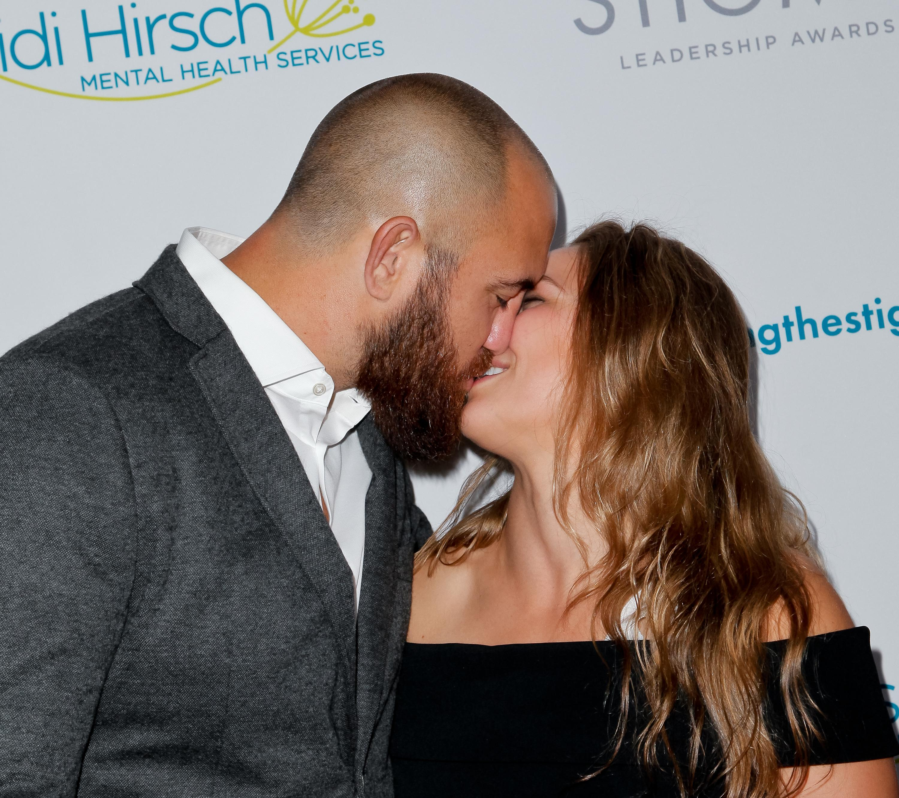 Travis Browne and Ronda Rousey married last summer