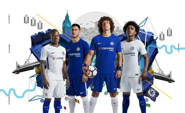Chelsea have unveiled their home and away kits for next season