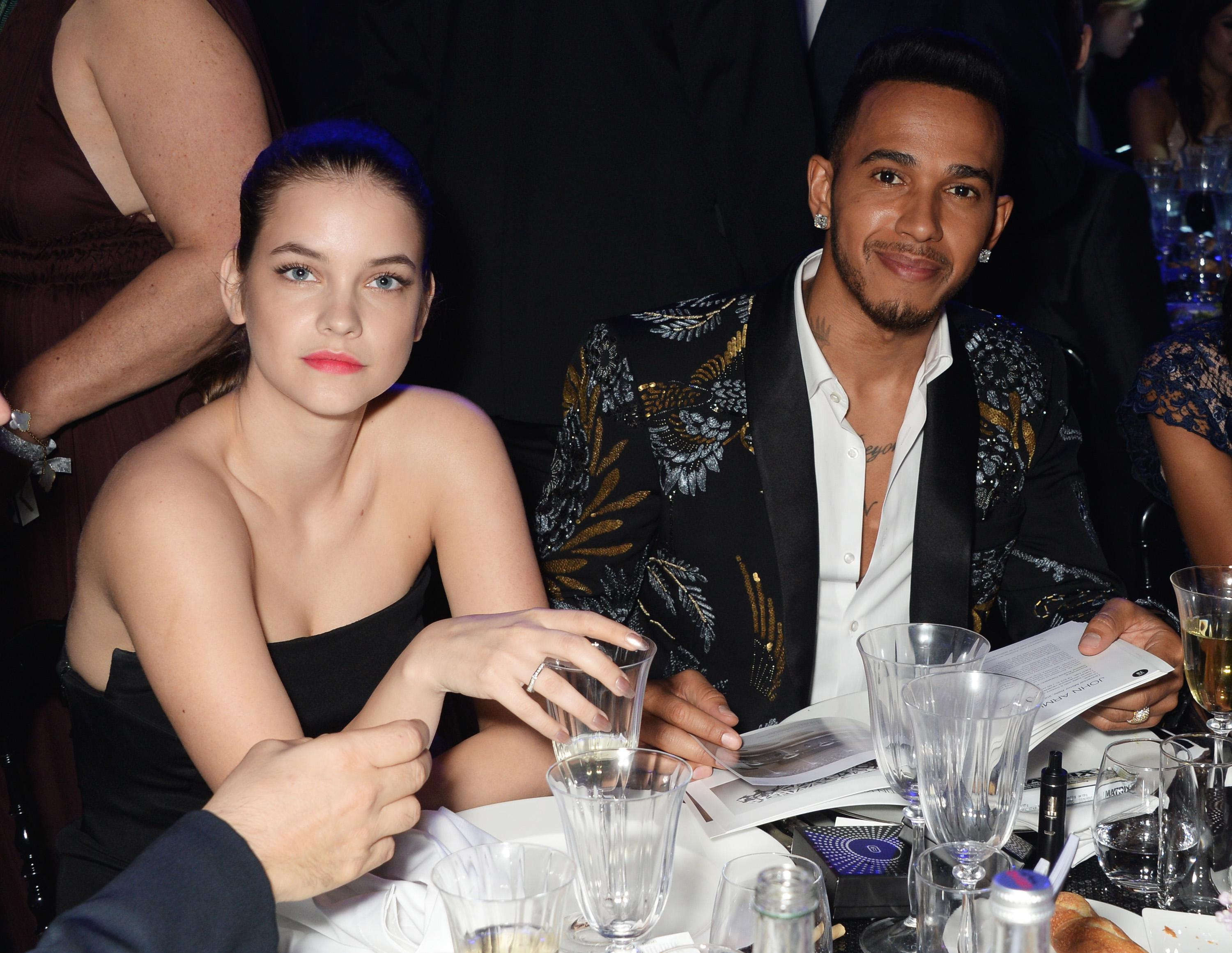 Barbara Palvin was also rumoured to be dating Lewis in 2016