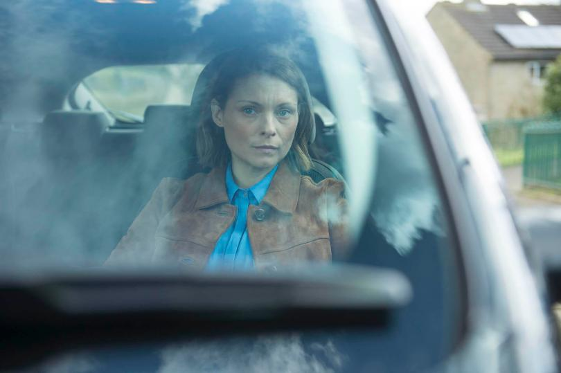 In the Dark: Helen switches between moments where she seems invincible and times when she's childishly vulnerable, so MyAnna Buring (above) deserves credit for keeping it all believable