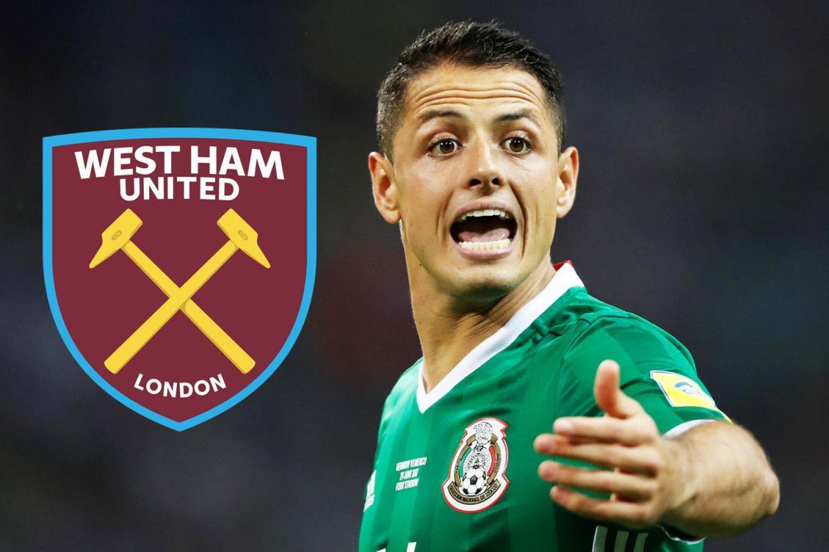 Image result for Javier Hernandez west ham
