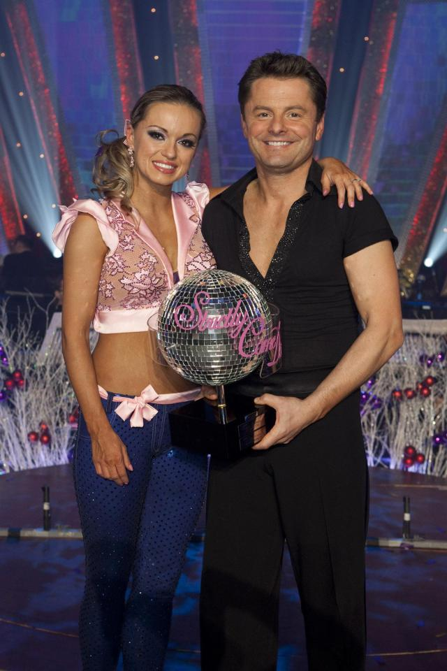 Chris Hollins and Ola Jordan won the championship in 2009
