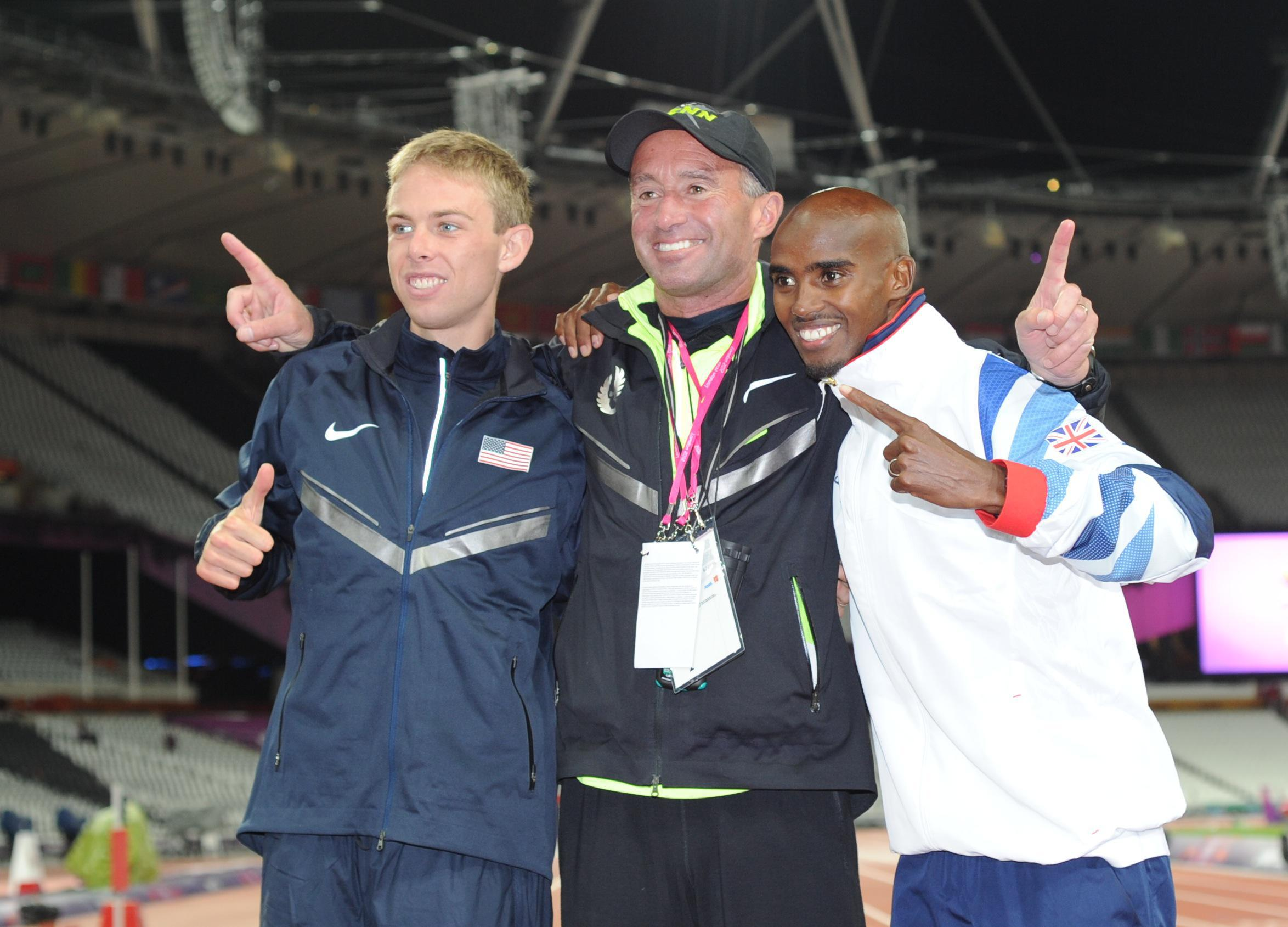 Mo's association with coach Alberto Salazar has been criticised