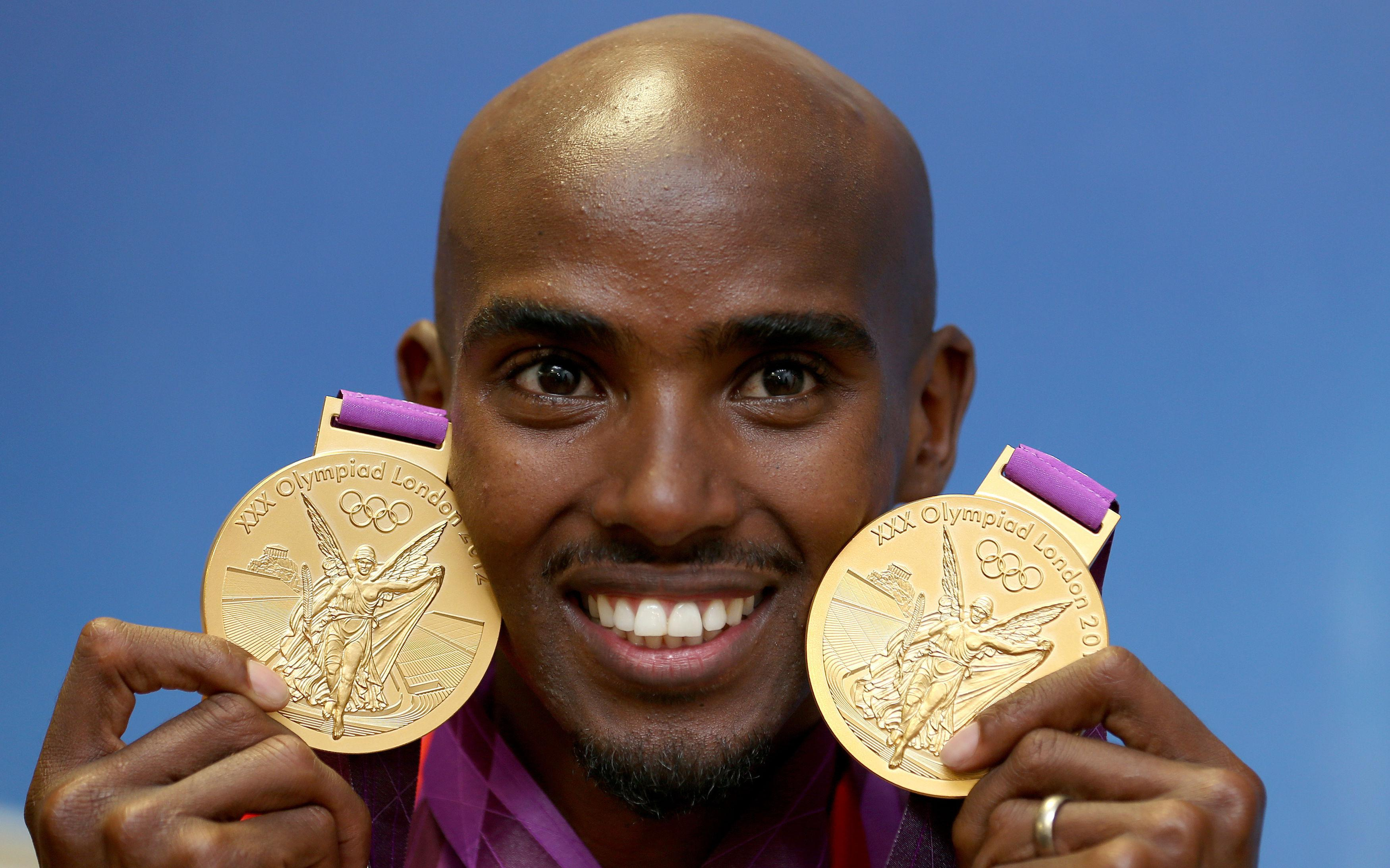 Mo delivered to expectations as he won double Gold at Olympics in 2012