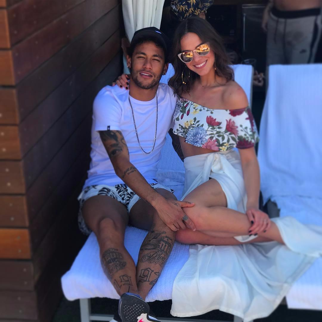 Neymar and Bruna Marquezine have been on and off since 2014
