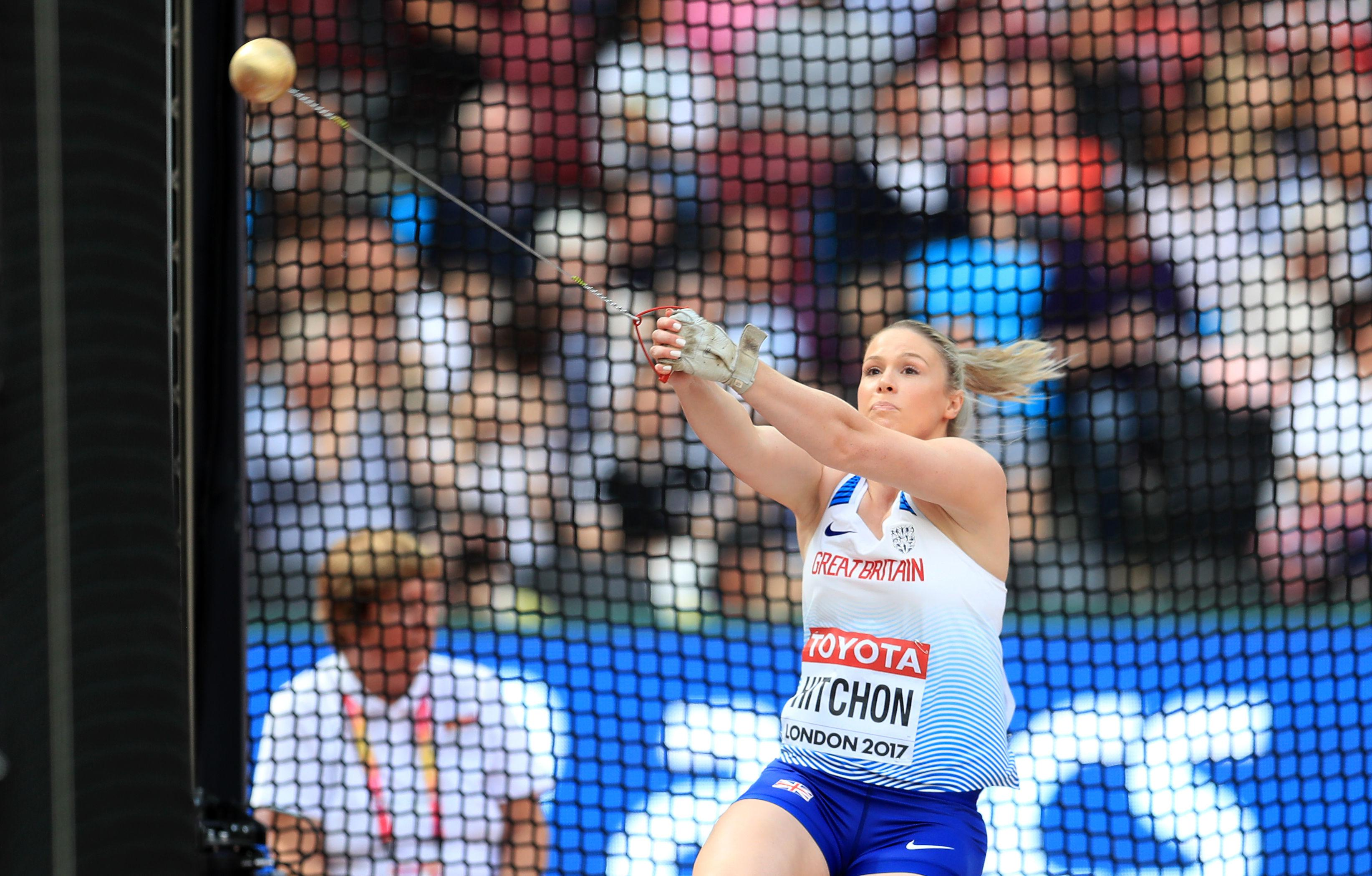 Sophie Hitchon became the first British woman to win an Olympic hammer medal in Rio