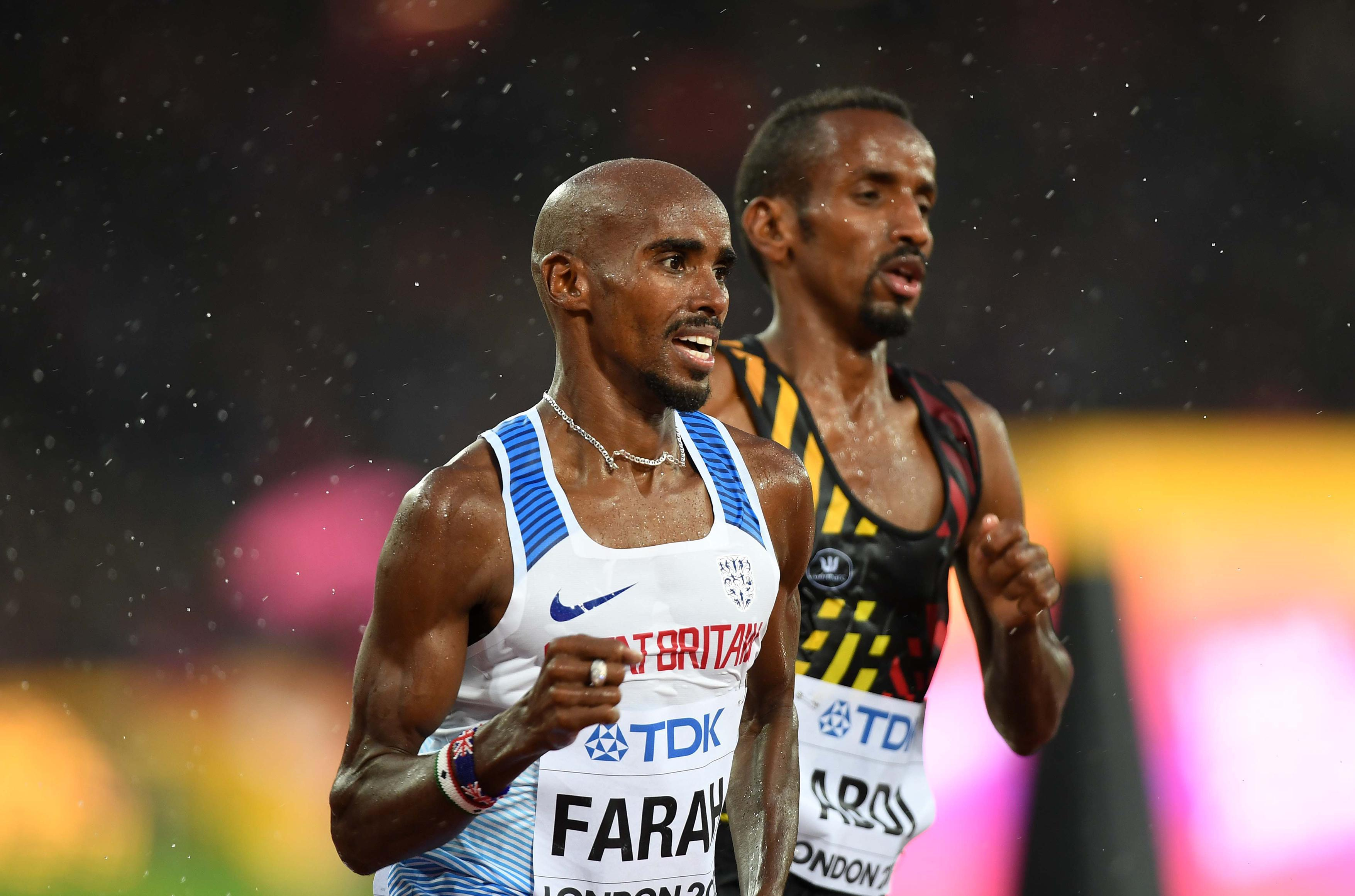 Farah will retire from the track this summer to step up to marathon distance