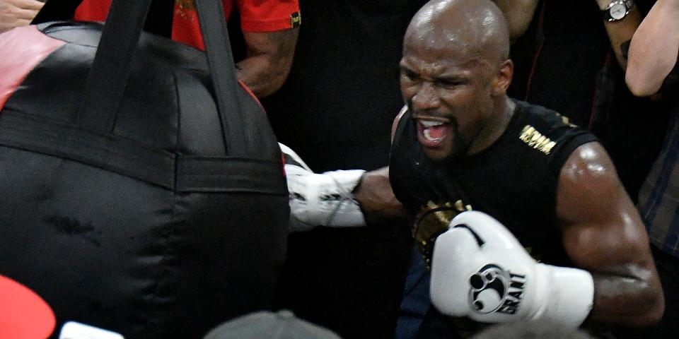 Floyd Mayweather believes he is going to knock out Conor McGregor this month