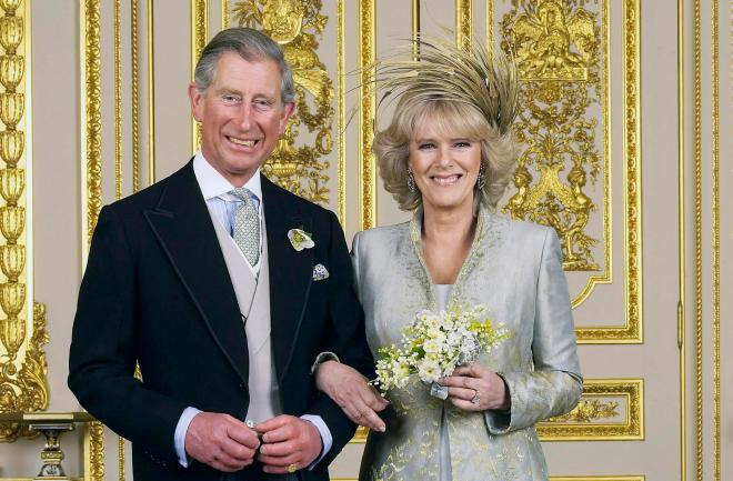 Prince Charles and Camilla married in 2005