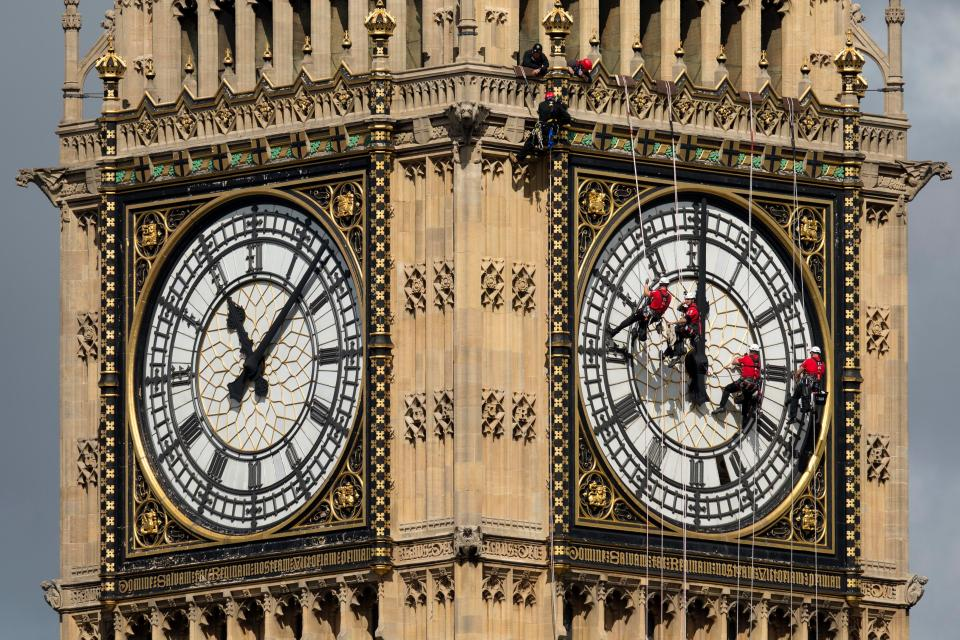 The iconic clock tower needs renovation work to preserve it and make it more eco-friendly