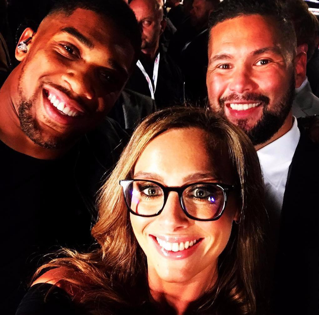 Anna Woolhouse covered Kell Brook vs Errol Spence Jnr in Sheffield, with Tony Bellew and Anthony Joshua in attendance