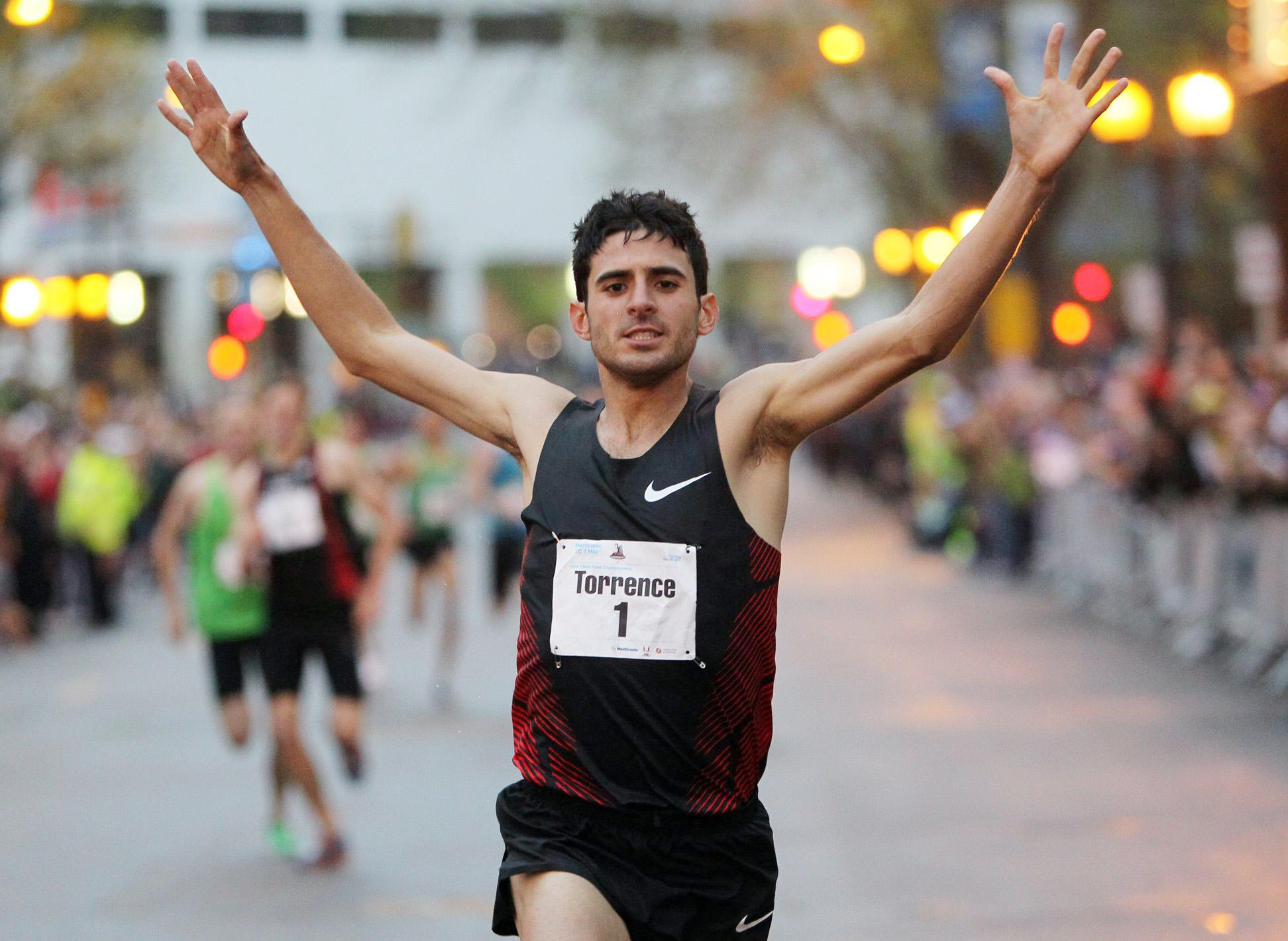 Olympic athlete David Torrence has been found dead in a swimming pool