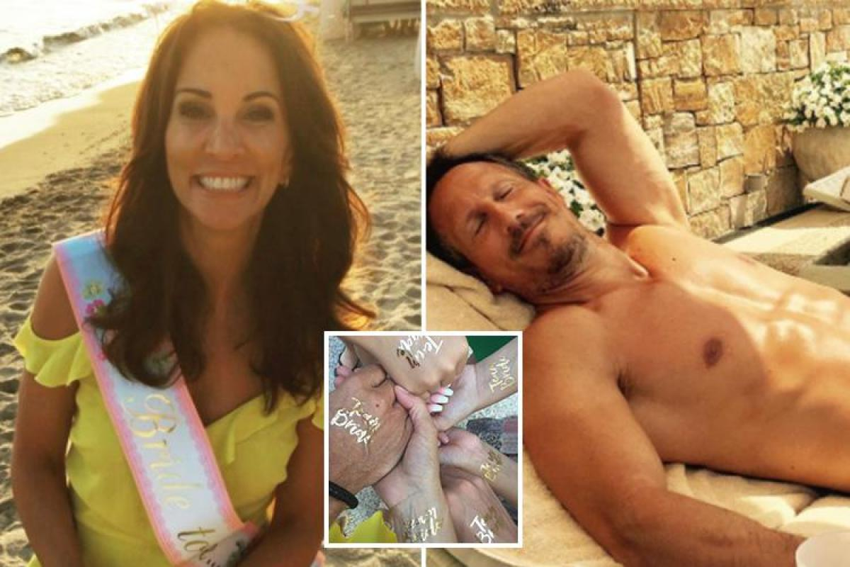 Andrea Mclean Topless loose women's andrea mclean shares picture of fit topless
