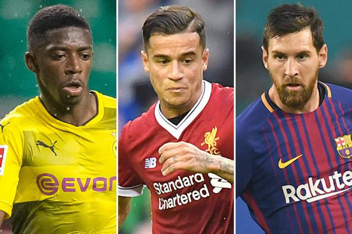 Philippe Coutinho Lionel Messi And Ousmane Dembele How Barcelona E Money Will Line Up Next Season